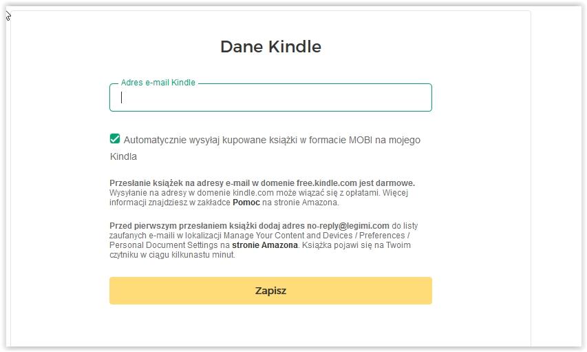 Jak Przesłać Zakupioną Książkę Na Kindle Centrum Pomocy